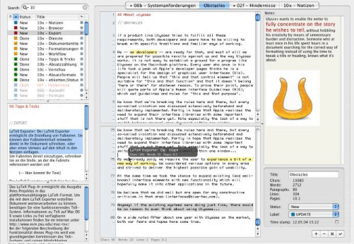 The Best Writing Software for Writers-Ulysses image