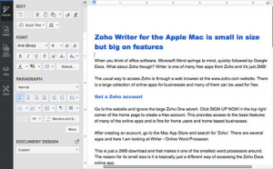 The Best Writing Software for Writers-Zoho Writer image