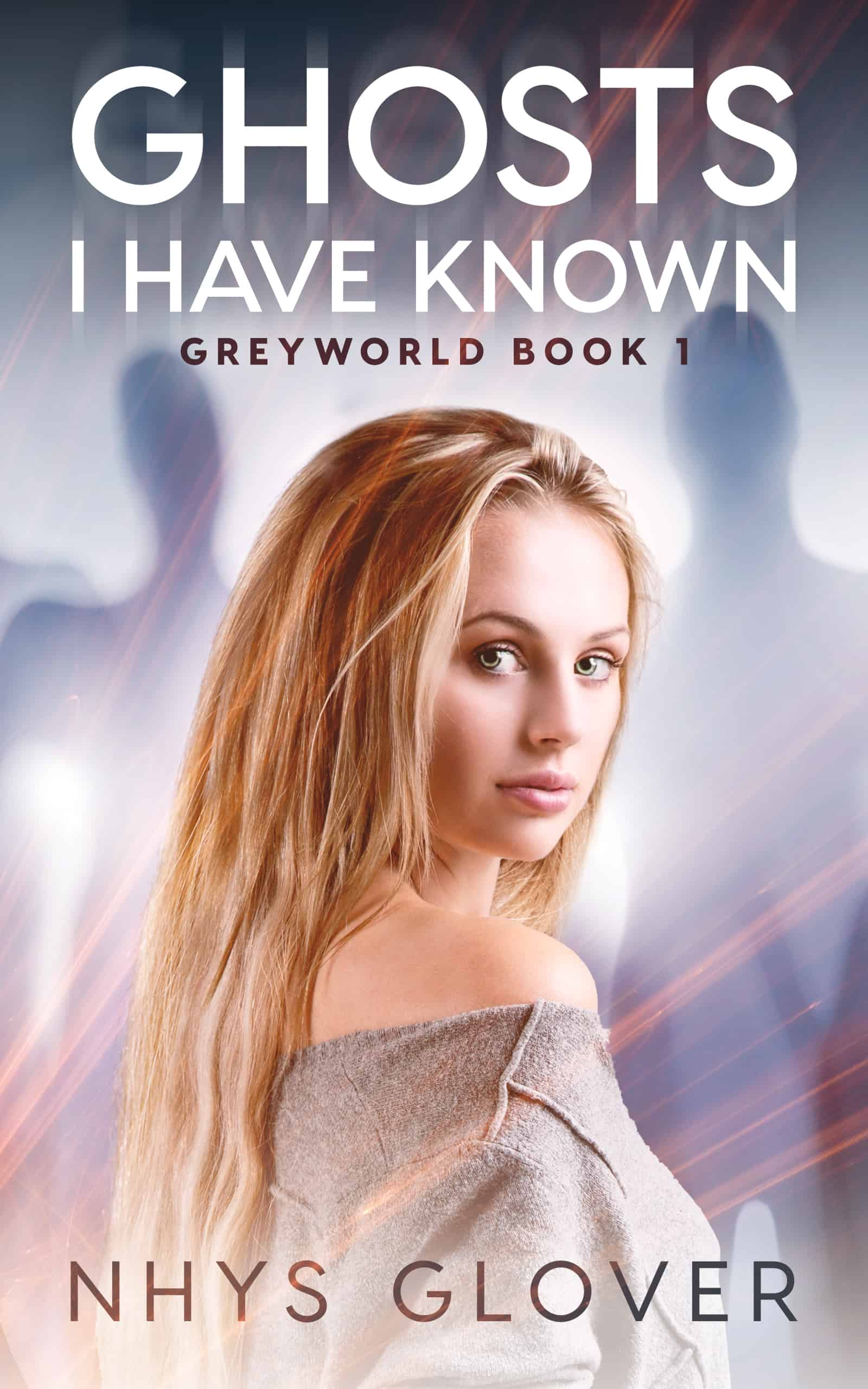 Ghosts I Have Known paranormal romance book cover image