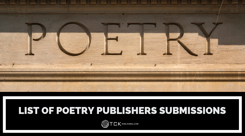 List of Poetry Publishers Currently Accepting Submissions