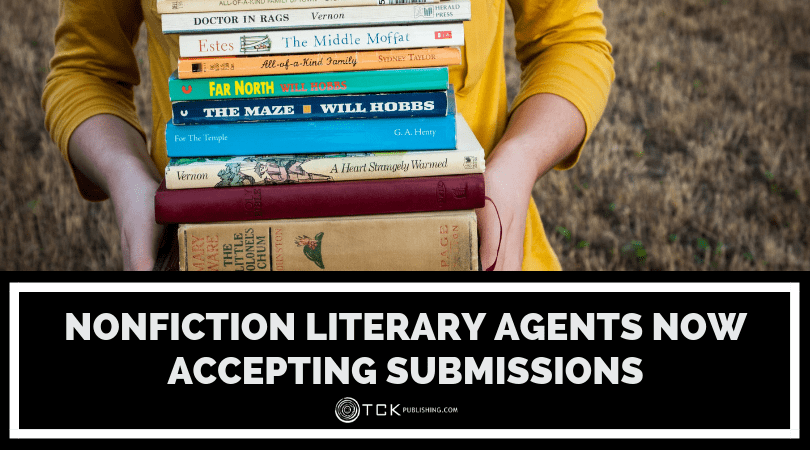 Nonfiction Literary Agents Now Accepting Submissions image