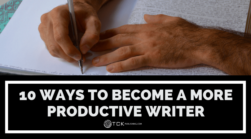 10 Ways to Become a More Productive Writer image
