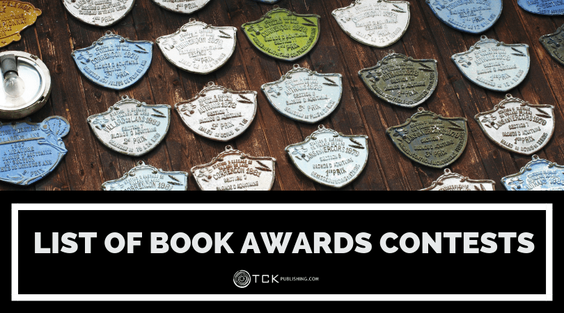 List of Book Awards Contests (Updated 2019)