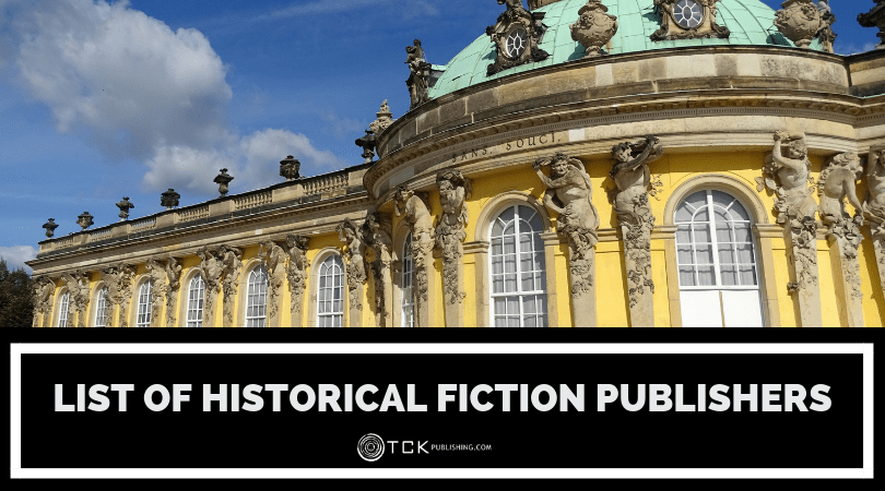 List of Historical Fiction Publishers image