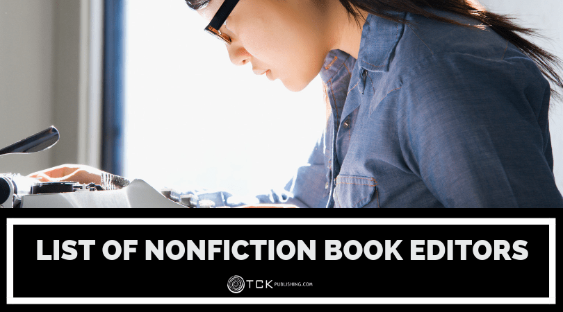 List of Nonfiction Book Editors