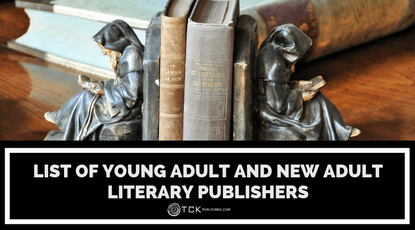 List of Young Adult and New Adult Literary Publishers image