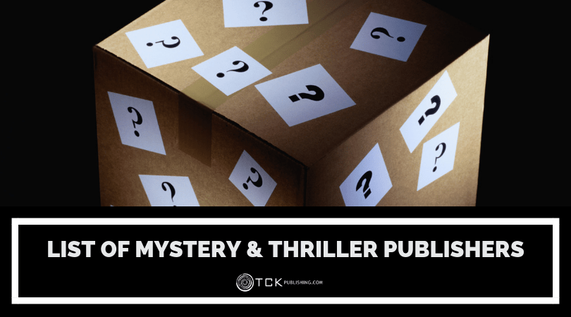 List of Mystery & Thriller Publishers
