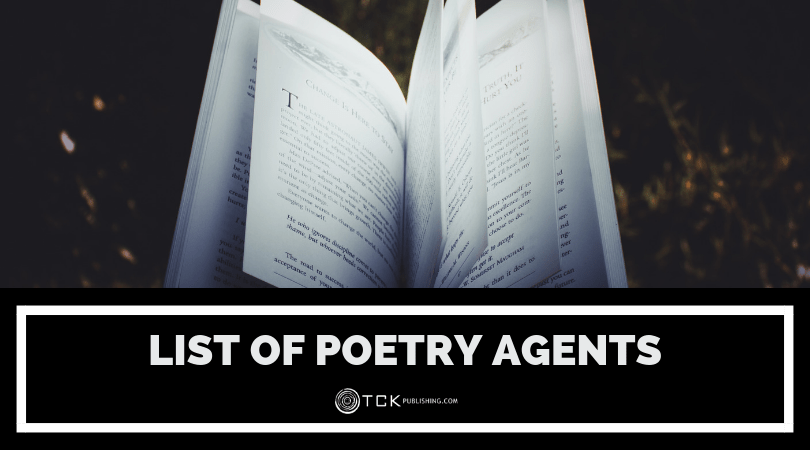 List of Poetry Literary Agents Now Accepting Submissions