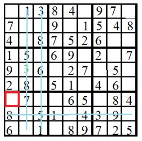 level 2 sudoko puzzle 8 image