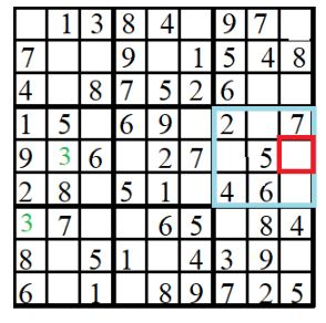 level 2 sudoko puzzle 9 image