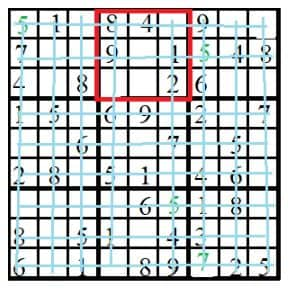 level 3 sudoko puzzle 13 image
