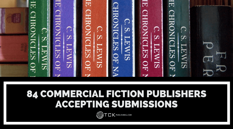 84 Commercial Fiction Publishers Accepting Submissions