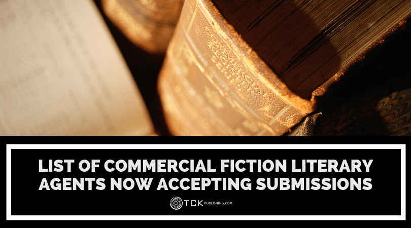 List of Commercial Fiction Literary Agents Now Accepting Submissions image