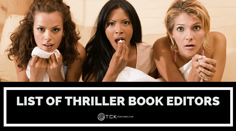 List of Thriller Book Editors