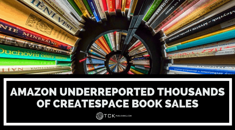 Amazon Underreported Thousands of CreateSpace Book Sales