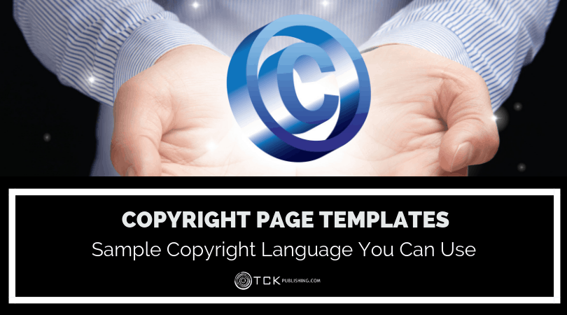 Copyright Page Templates image