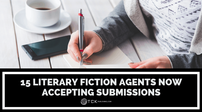 Literary Fiction Agents Now Accepting Submissions image