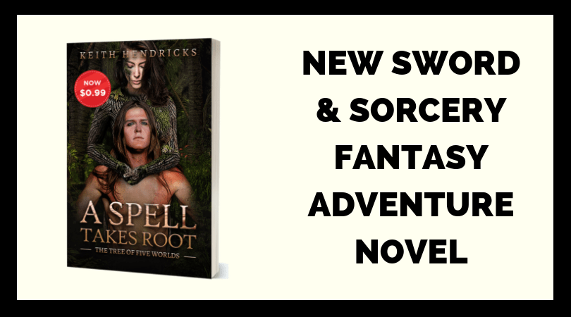 New Sword & Sorcery Fantasy Adventure Novel