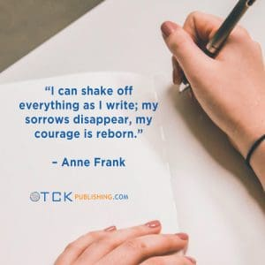 writing quote image