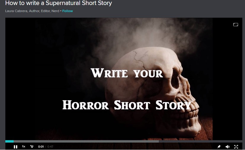 How to Write a Supernatural Short Story Image
