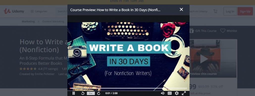 How to Write a Book in 30 Days (Nonfiction) Image