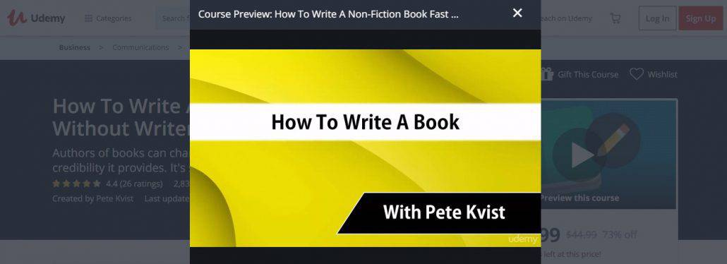 2. How To Write A Non-Fiction Book Fast Without Writers Block Image