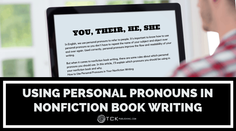 Using Personal Pronouns in Nonfiction Book Writing Image