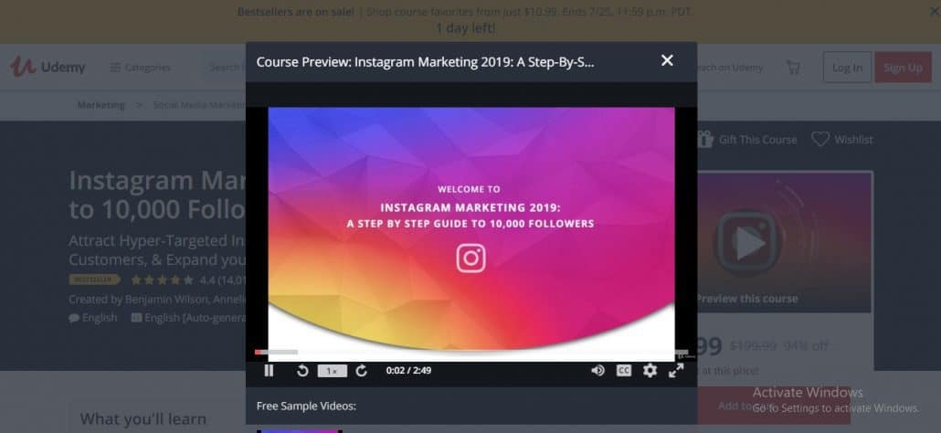 Instagram Marketing 2019: A Step-By-Step to 10,000 Followers Image