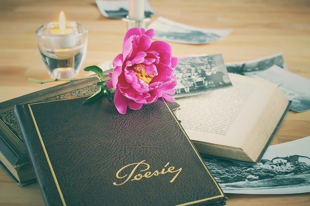 writing poetry image
