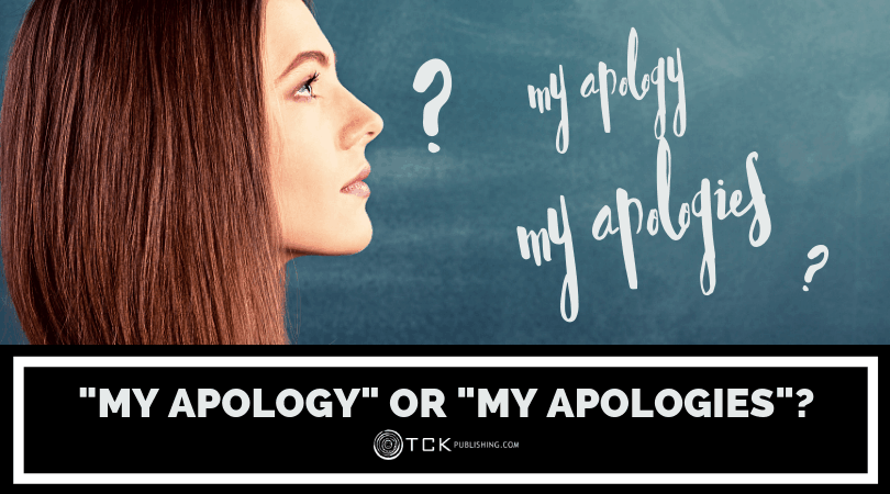 """My Apology"" or ""My Apologies"" Image"