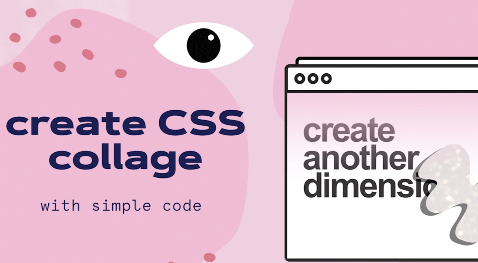 css collage course image