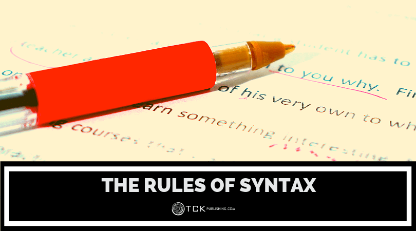The Rules of Syntax: Using Structure to Write More Effectively Image