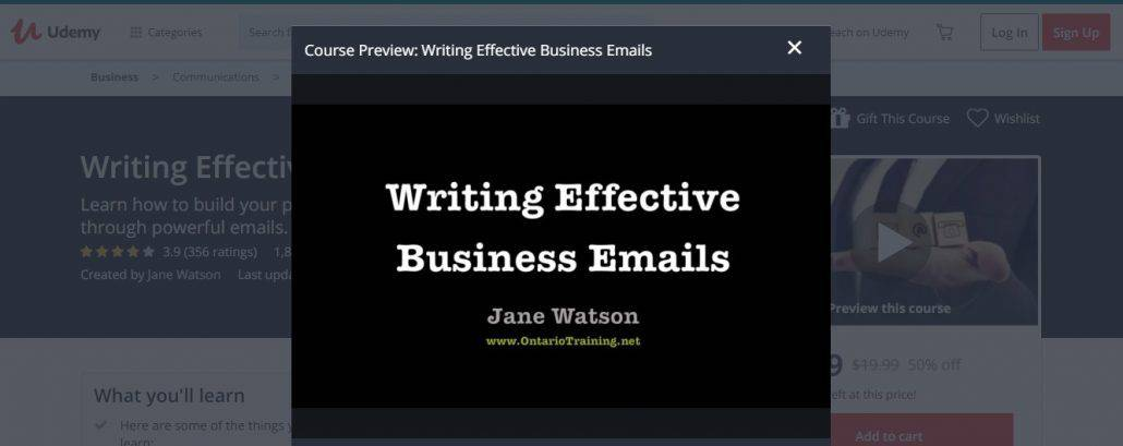 Writing Effective Business Emails Image