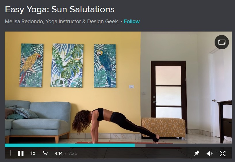 Easy Yoga: Sun Salutations image