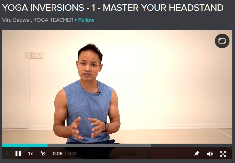 Yoga Inversions 1: Master Your Headstand Image