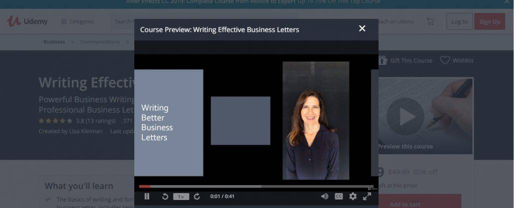 Writing Effective Business Letters Image