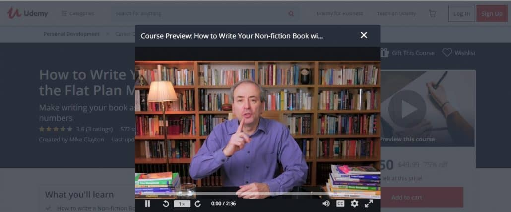 How to Write Your Non-fiction Book with the Flat Plan Method Image