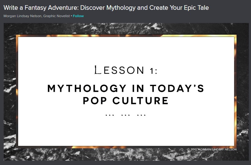 Write a Fantasy Adventure: Discover Mythology and Create Your Epic Tale Image