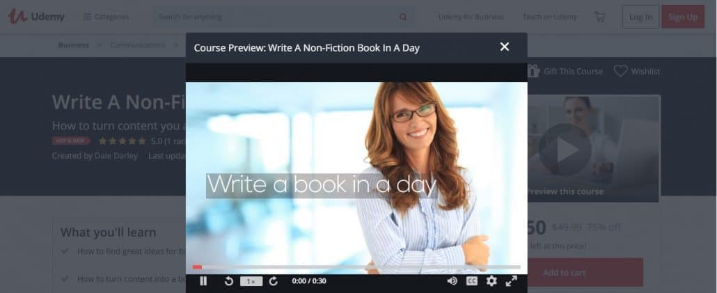 Write A Non-Fiction Book In A Day Image
