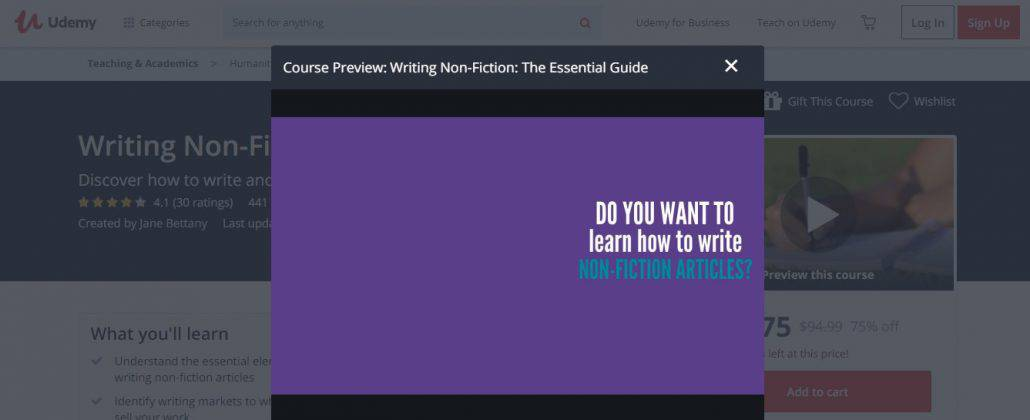 Writing Non-Fiction: The Essential Guide Image