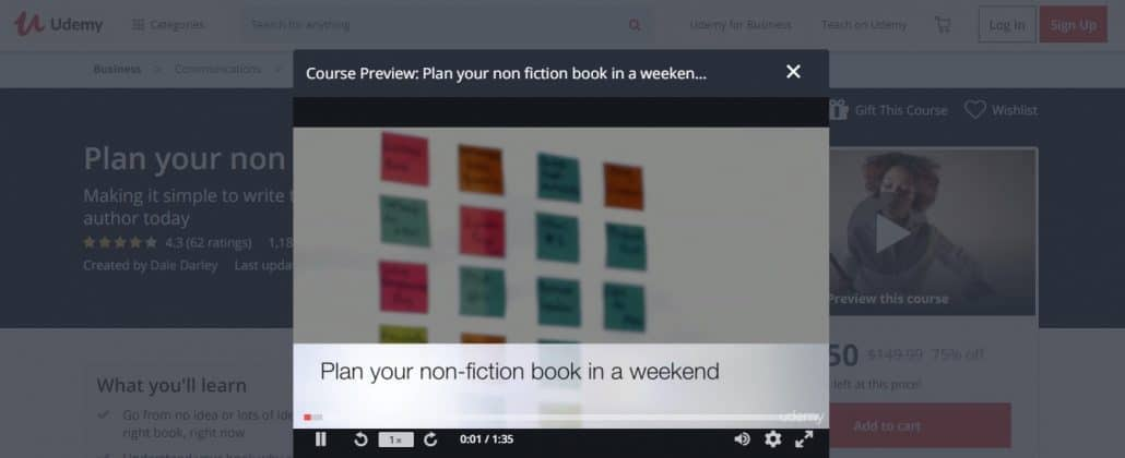 Plan your Non-fiction Book in a Weekend Image