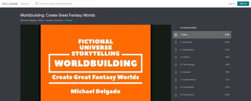 Worldbuilding: Create Great Fantasy Worlds image