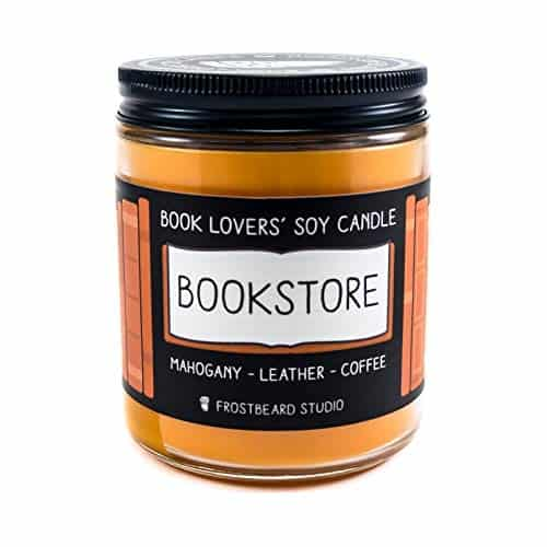 book lover candle