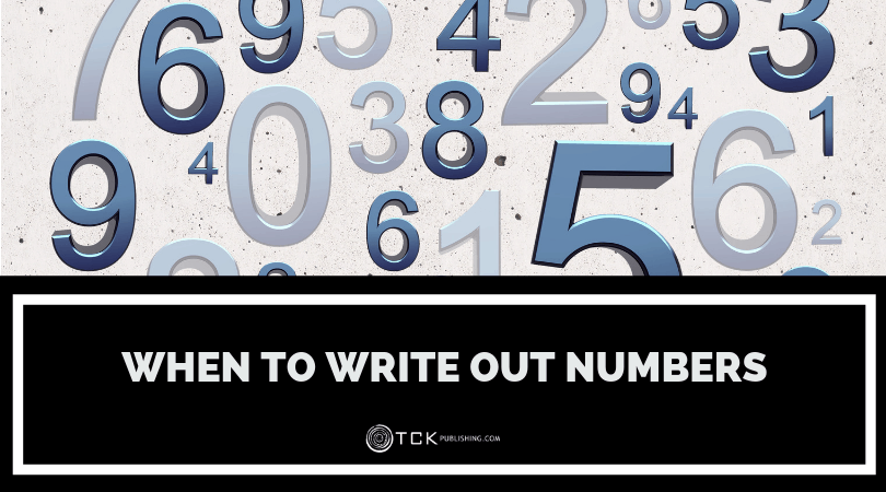 when to write numbers header