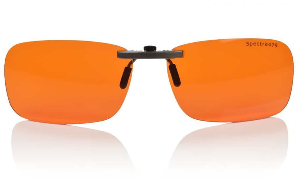 Spectra479 Clip-on Blue Blocking Amber Lenses Image