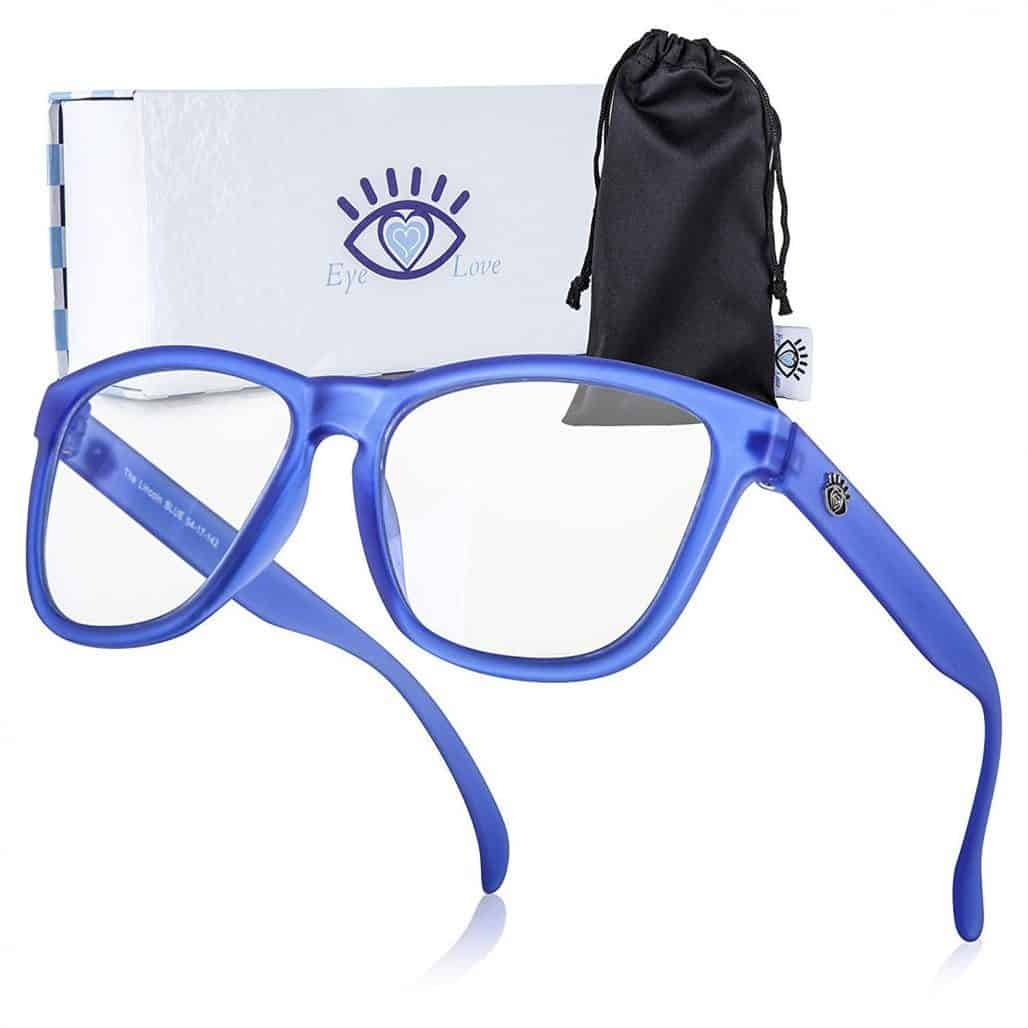 Eye Love Blue Blocking Glasses Image