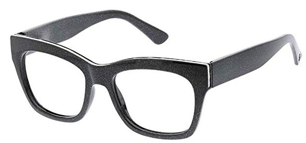 Peepers Shine On - Blue Light Filtering Square Reading Glasses Image