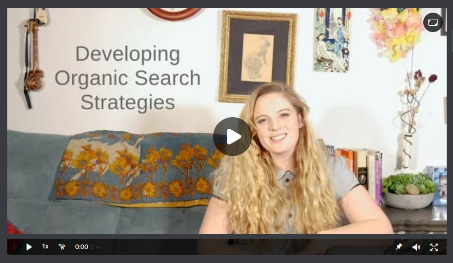 Developing Organic Search Strategies Image
