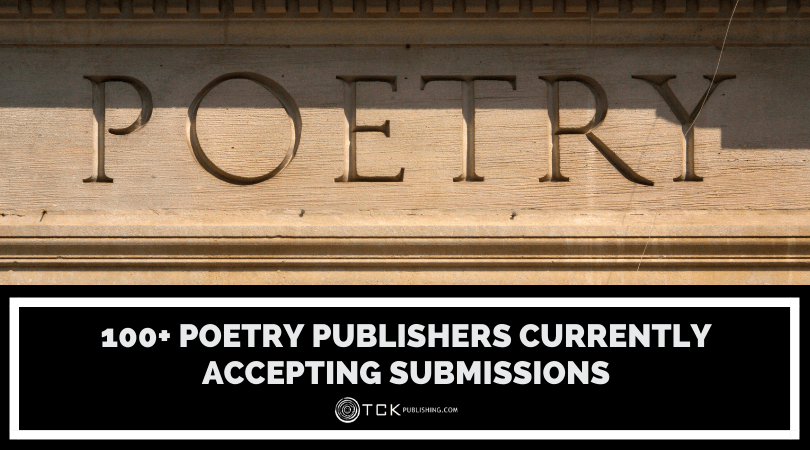 100+ Poetry Publishers Currently Accepting Submissions Image
