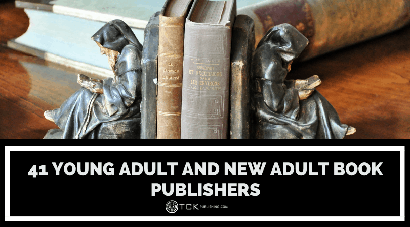 41 Young Adult and New Adult Book Publishers Image